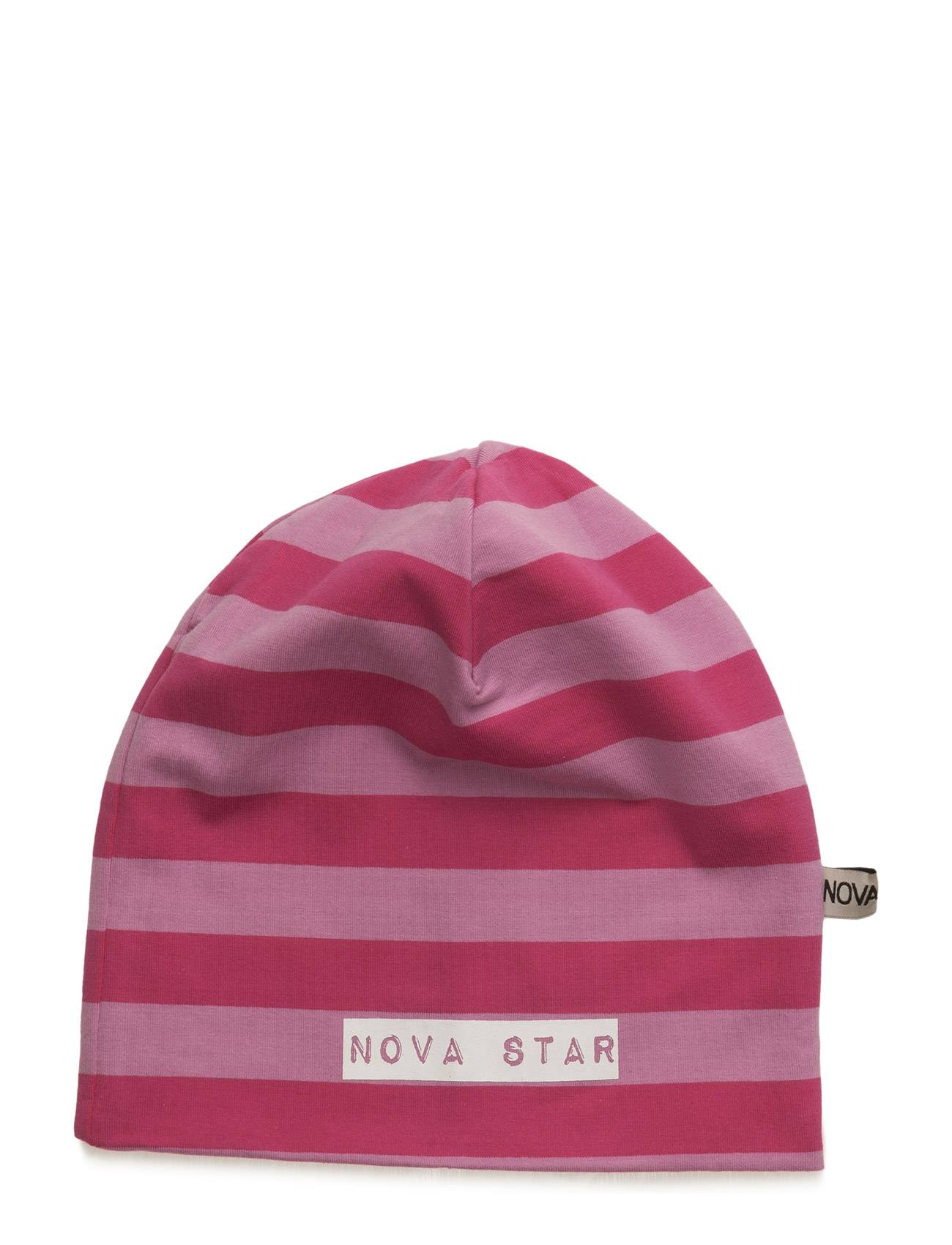 NOVA STAR Beanie Striped Pink