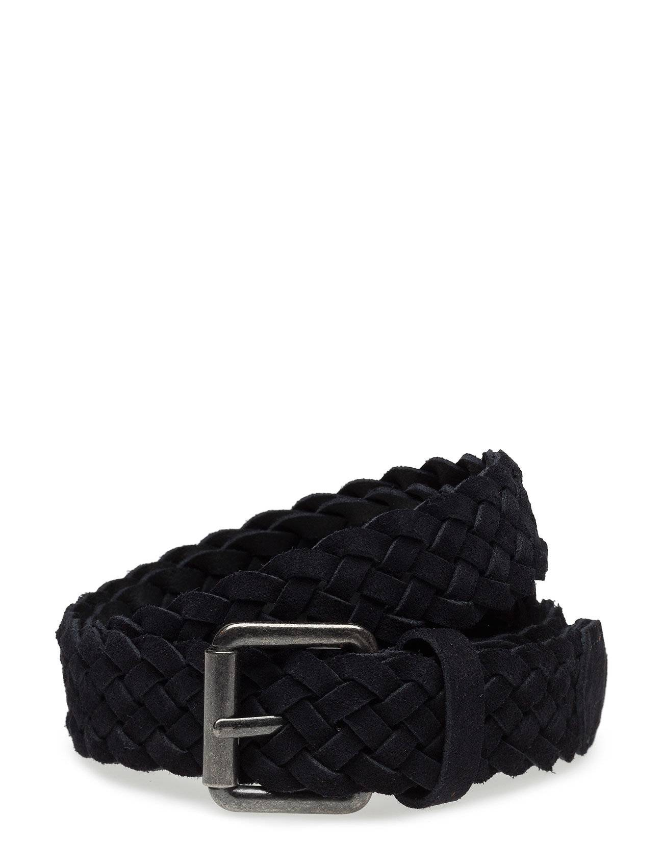 Selected Homme Shdphil Braided Suede Belt