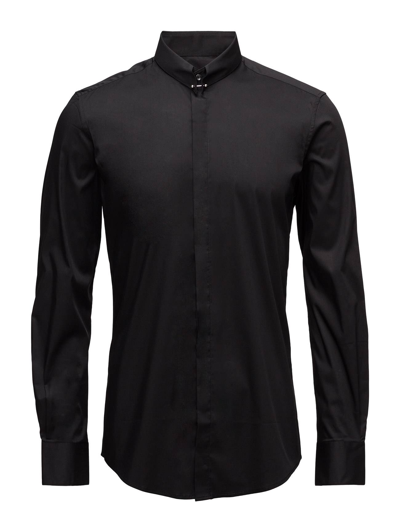 Antony Morato Shirt With Piercing On Front Center Collar