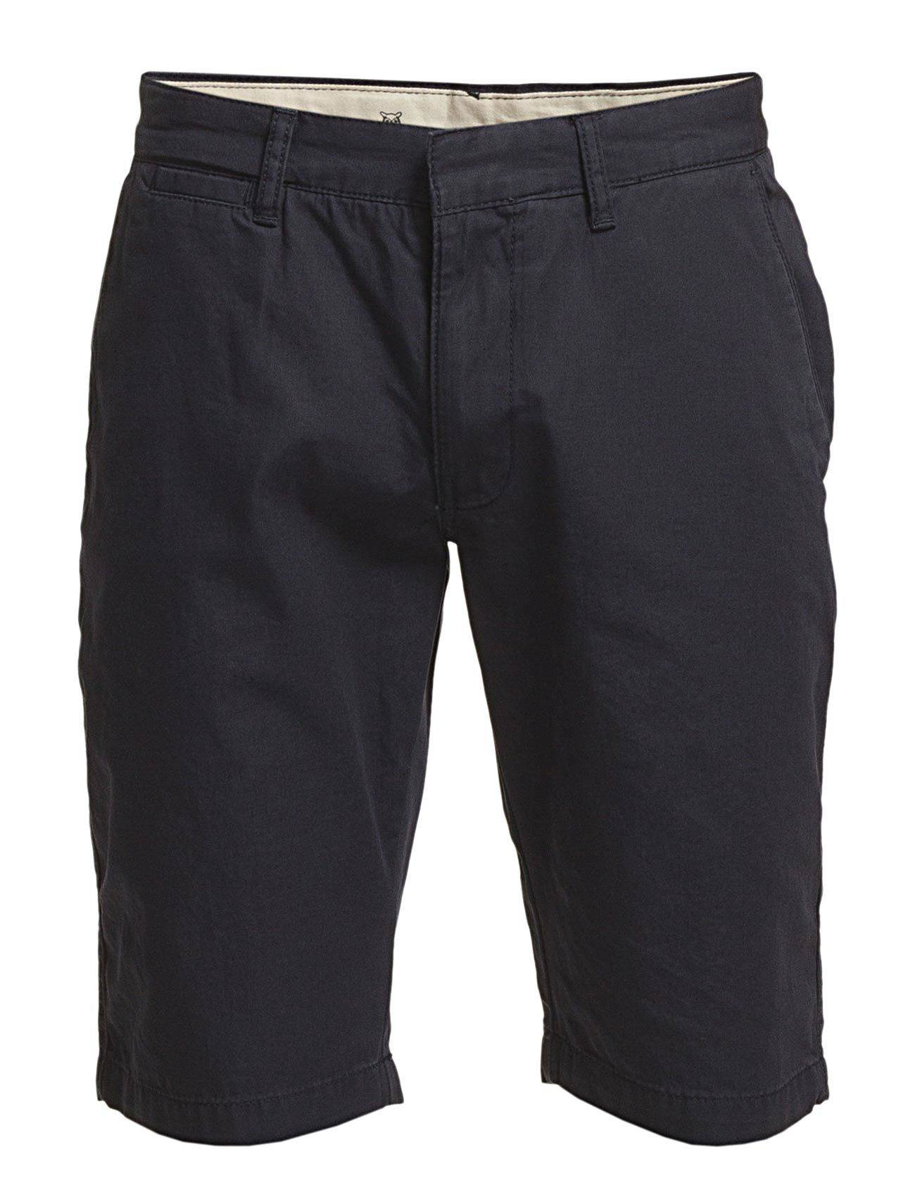 Knowledge Cotton Apparel Twisted Twill Shorts