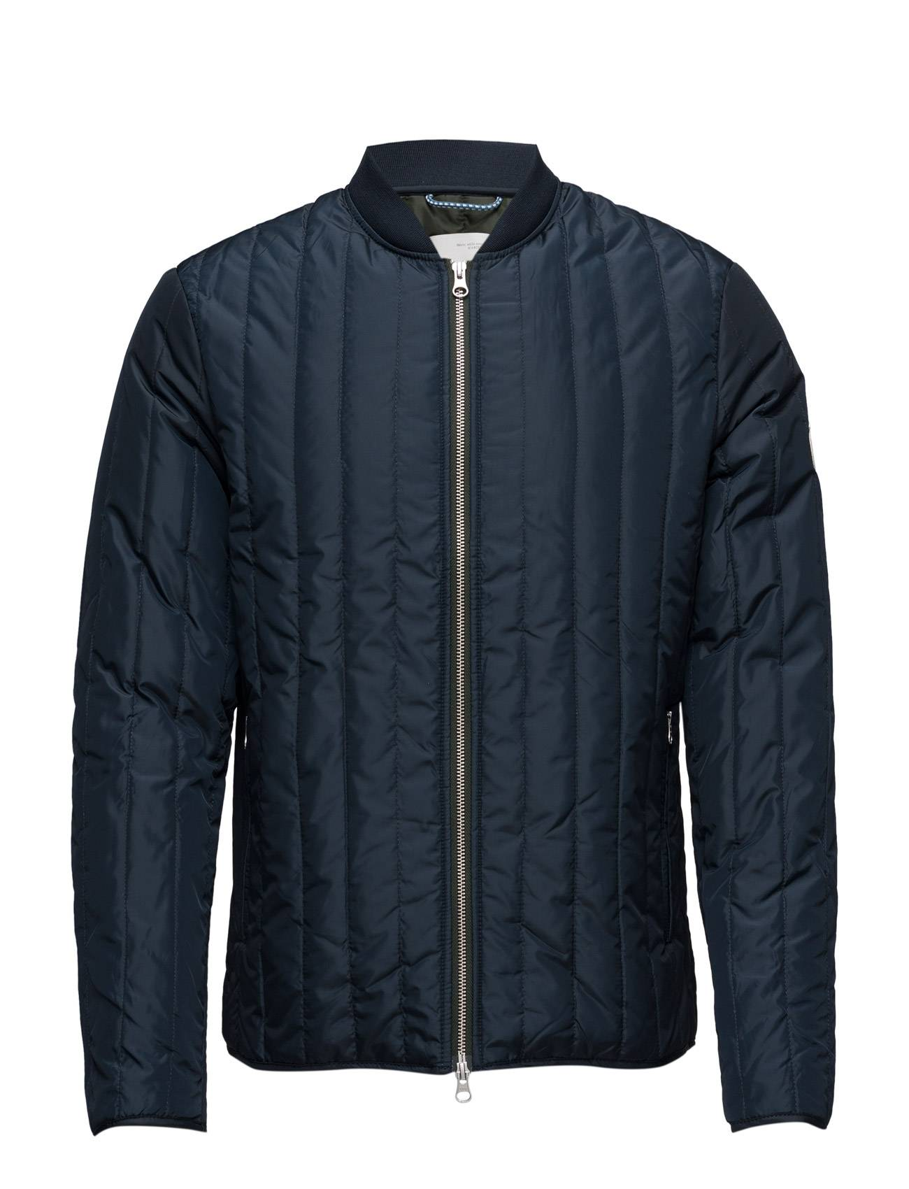 Knowledge Cotton Apparel Quilted Worker Jacket