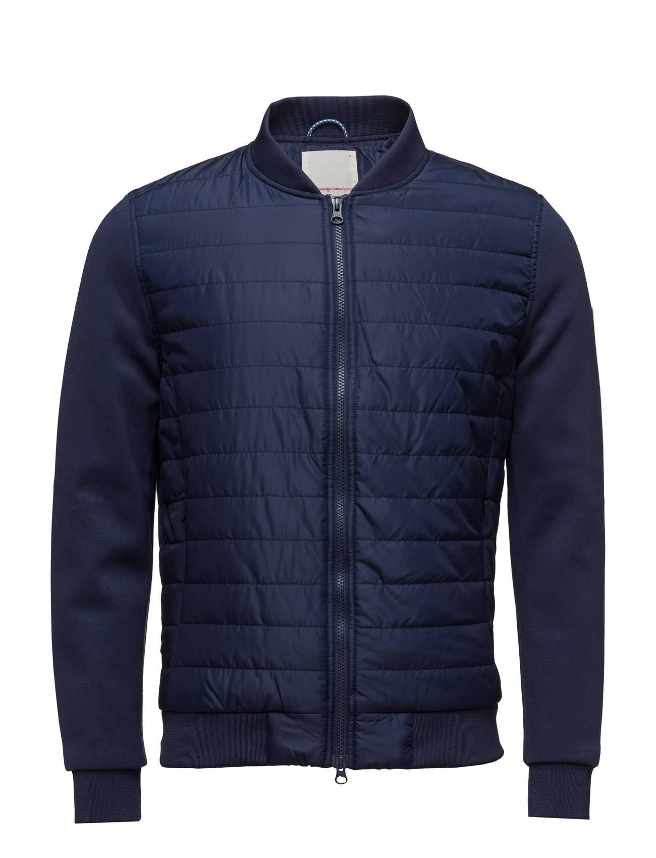 Knowledge Cotton Apparel Quilted Jacket W/Double Face Sleeve