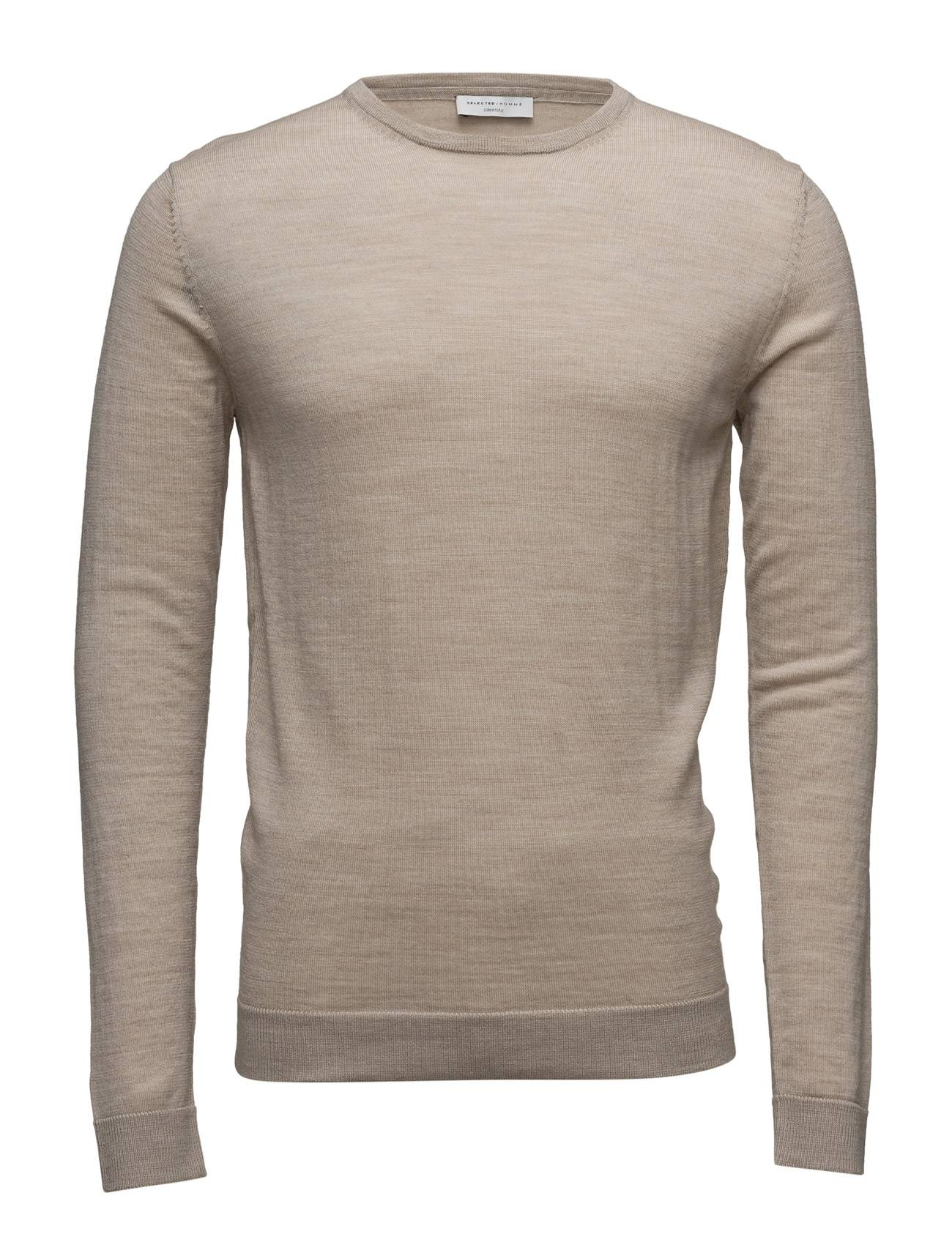 Selected Homme Shdtower Merino Crew Neck Noos