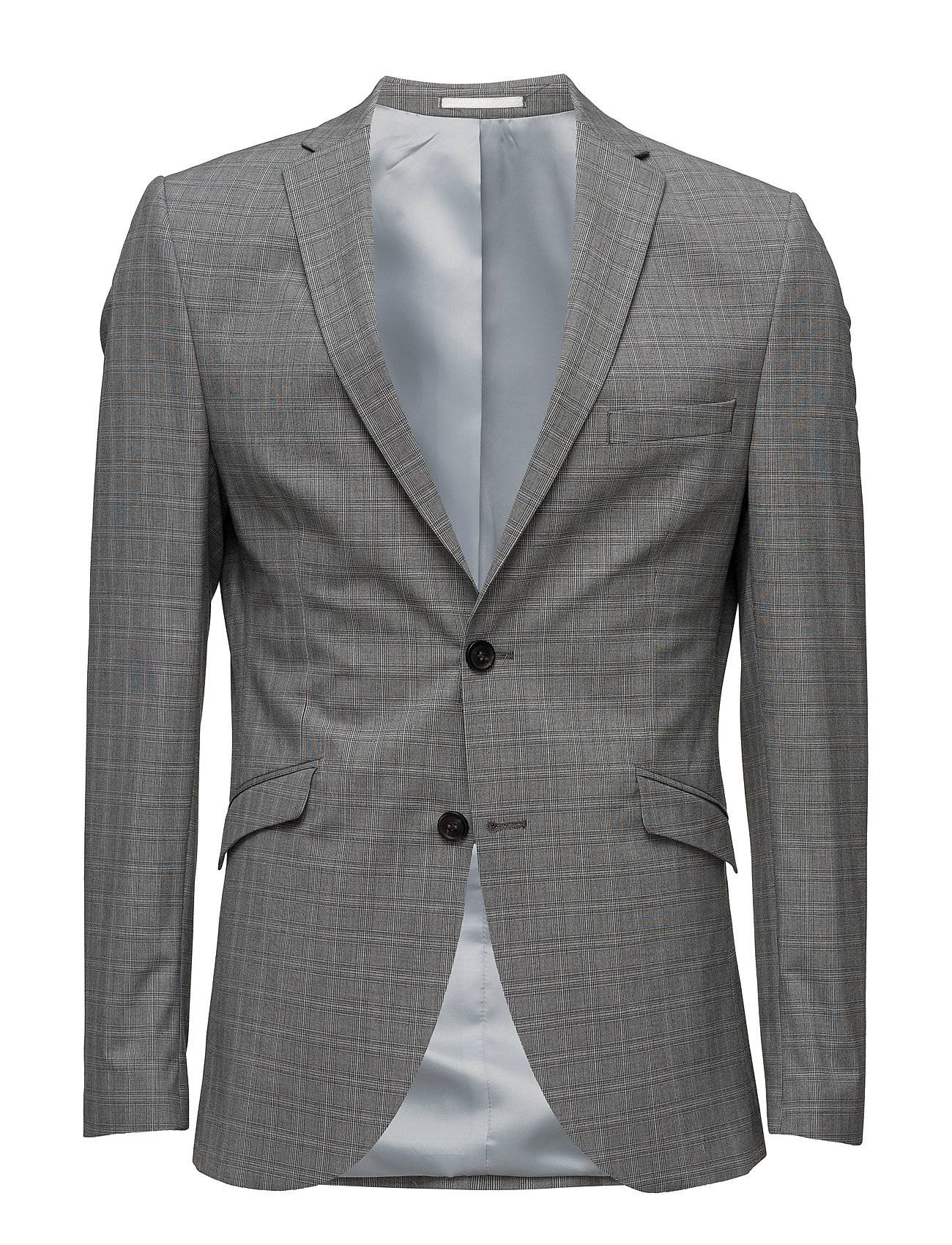 Selected Homme Shdone-Taxelias Grey Check Blazer