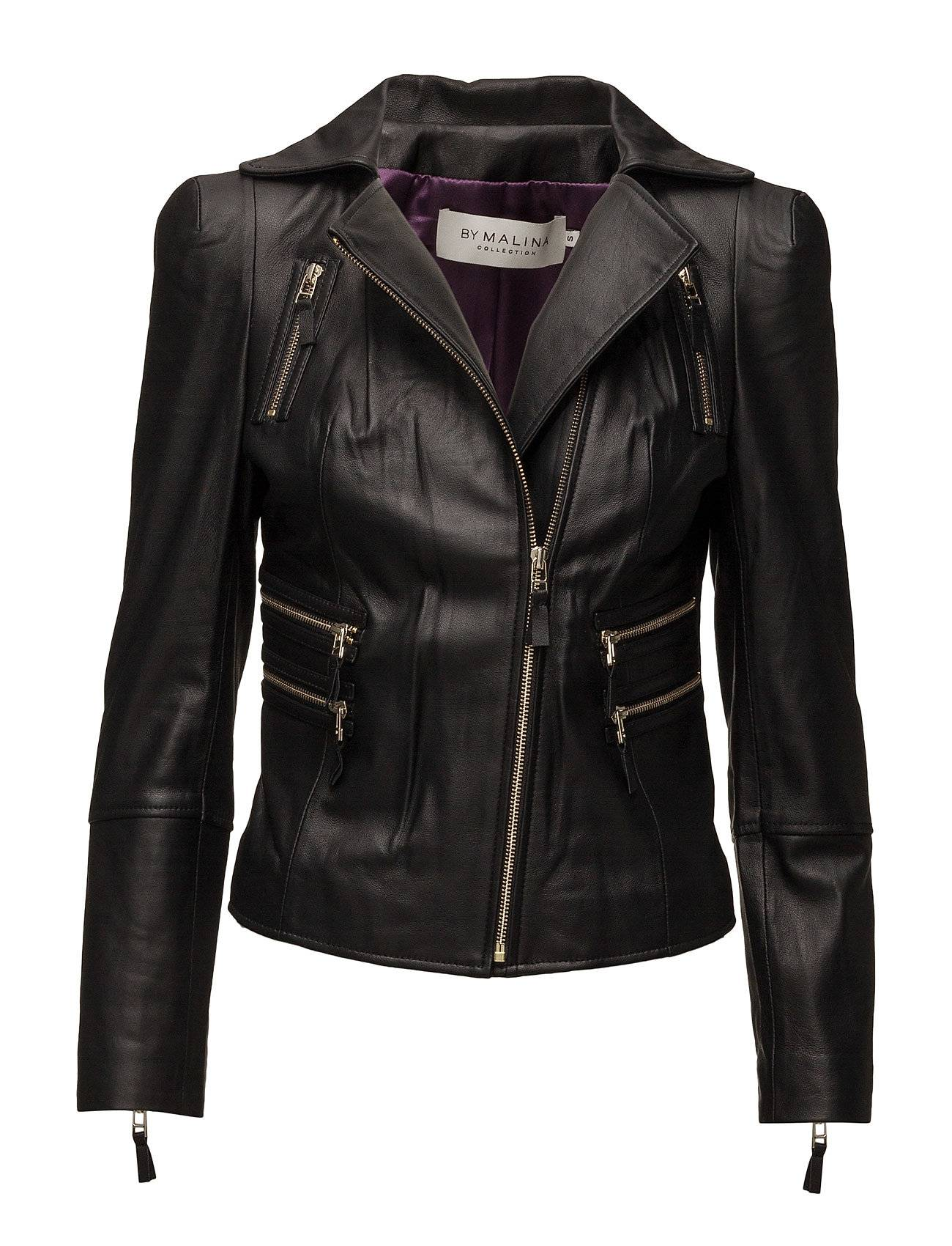 By Malina Dayo Leather Jacket