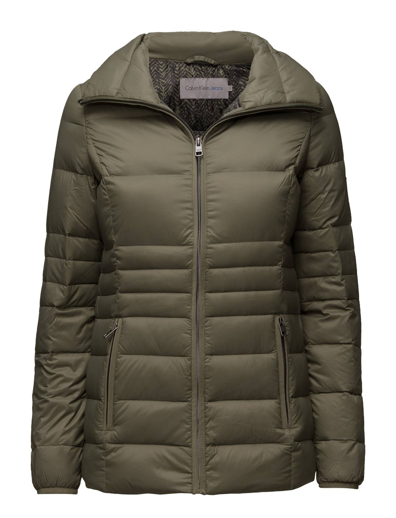 Calvin Opera Pack Down Fitted Mid Length J