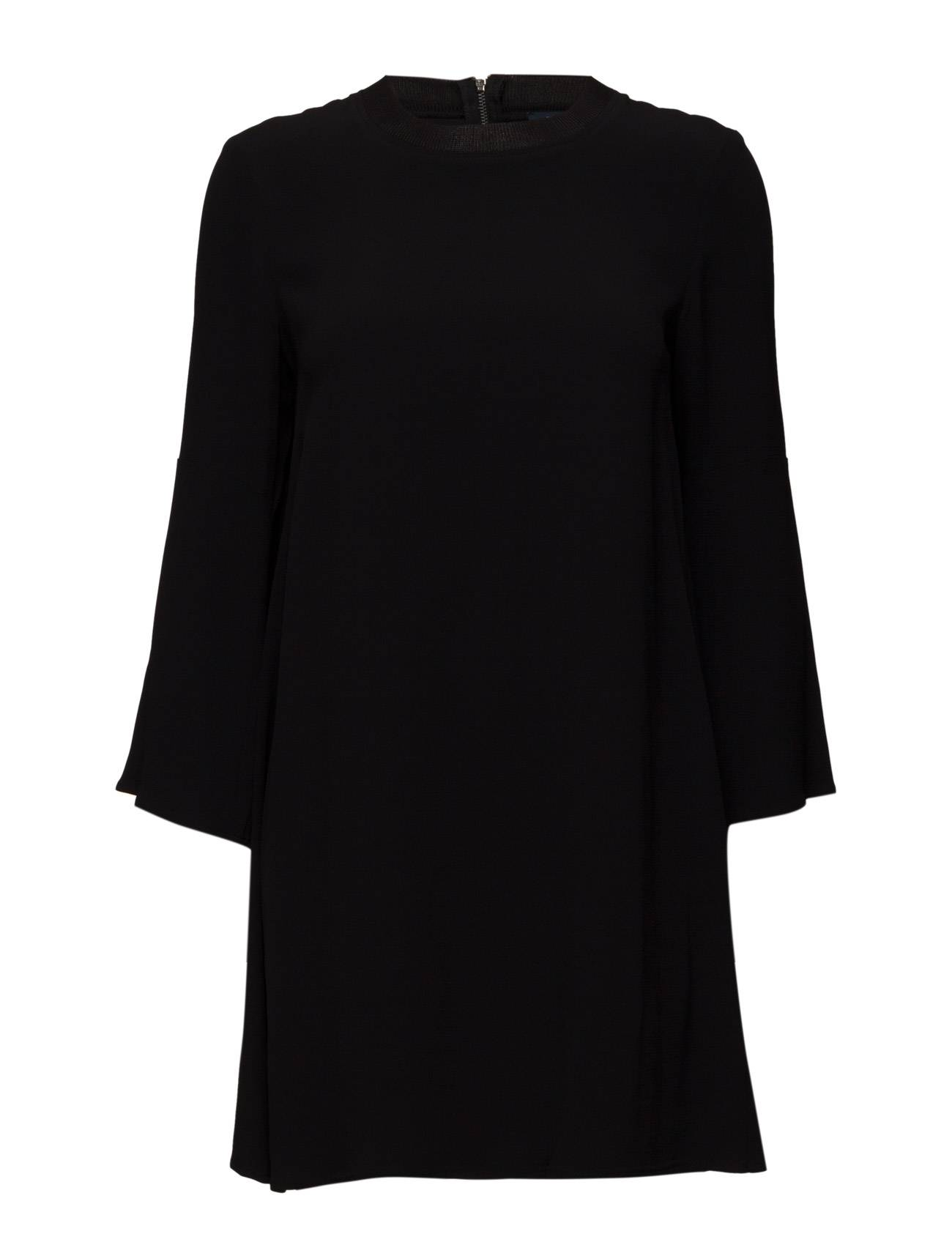 French Connection Emma Crepe Ls Fluted Slv Tunic