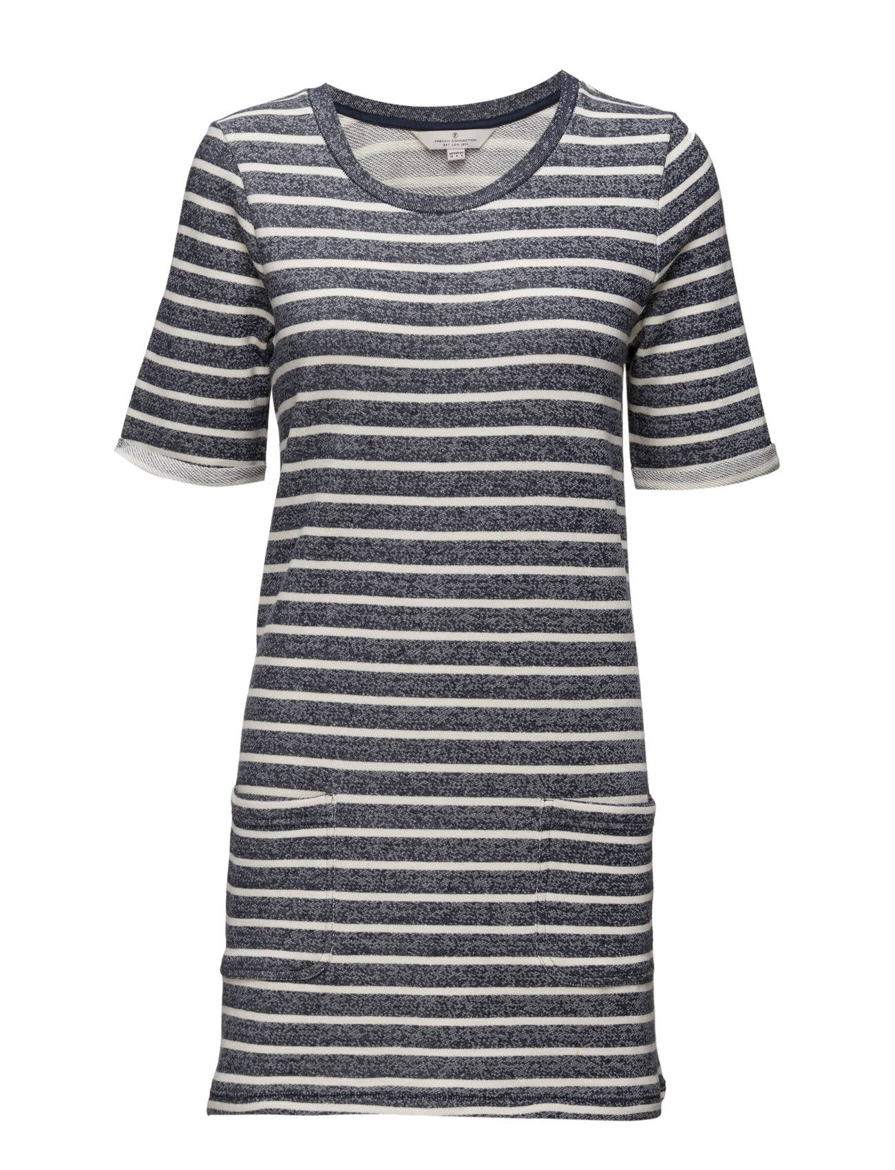 French Connection Normandy Stripe Ss Tee Dress