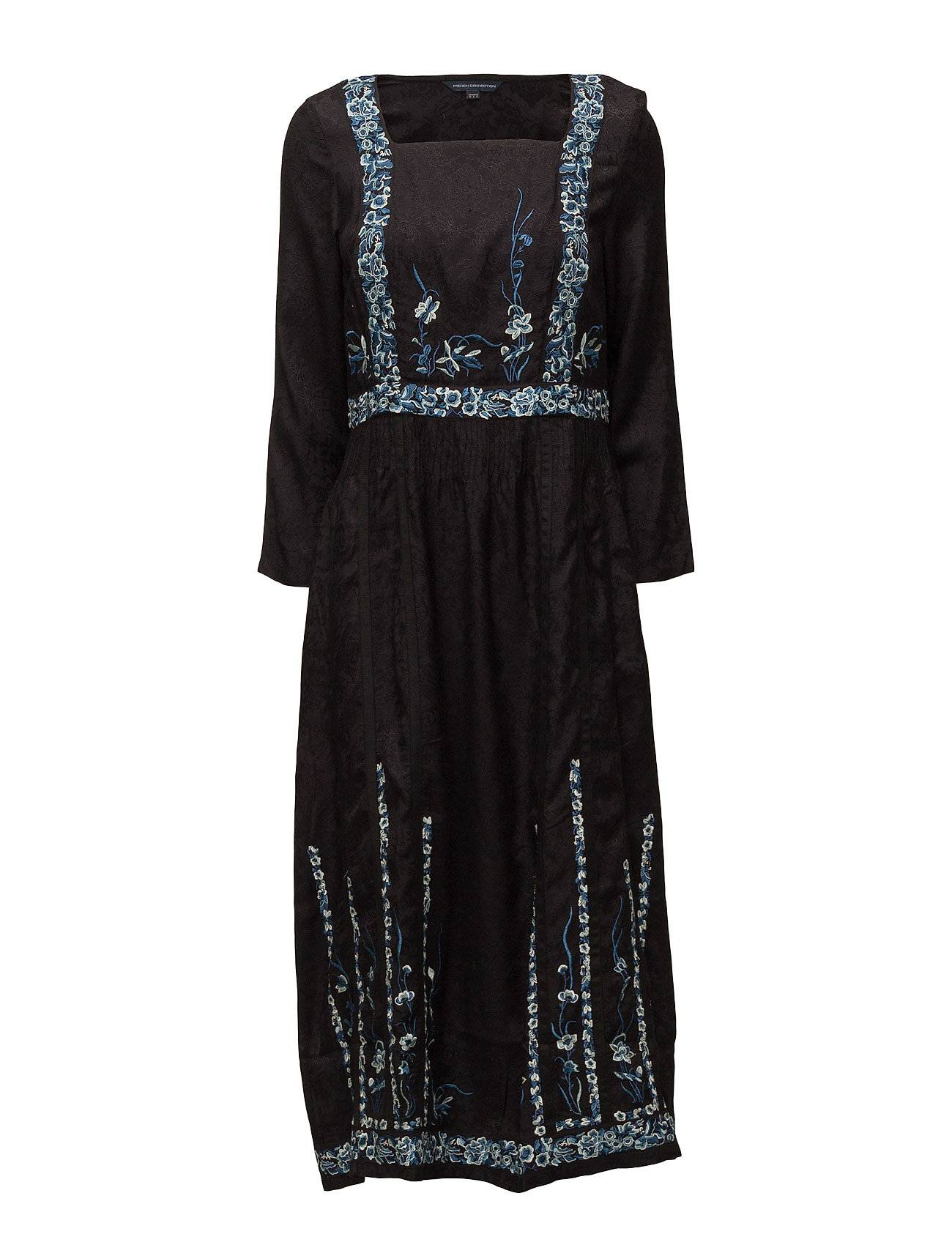 French Connection Argento Stitch L/Slv Maxi