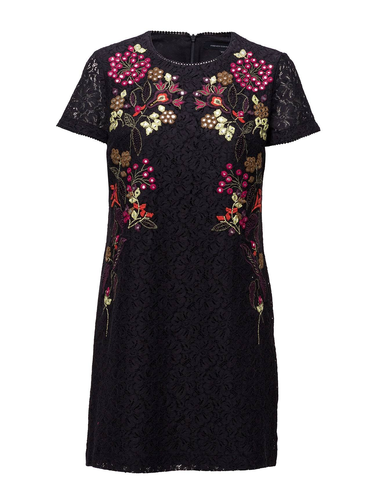 French Connection Legere Lace Ss Tunic Dress