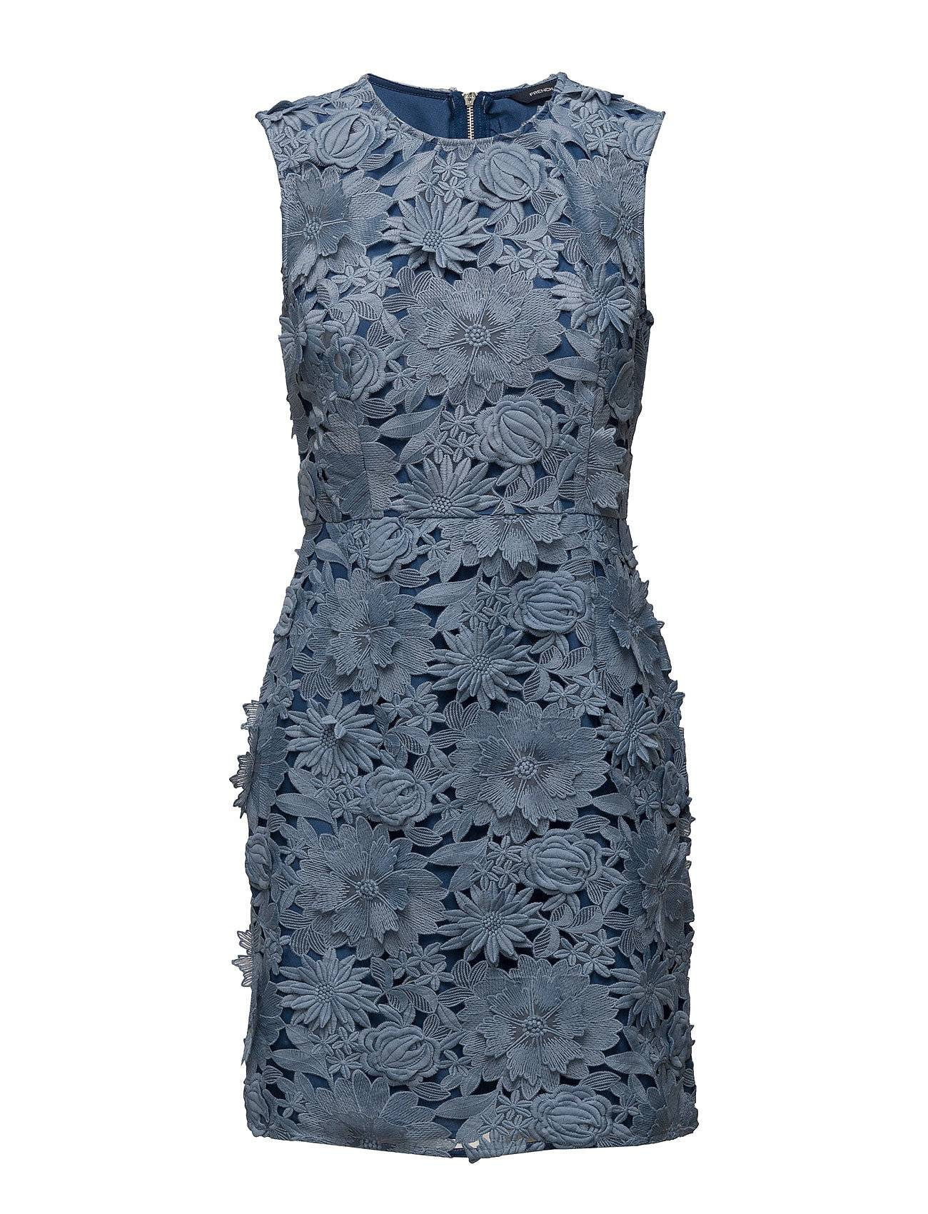 French Connection Manzoni Lace S/Lss Dress