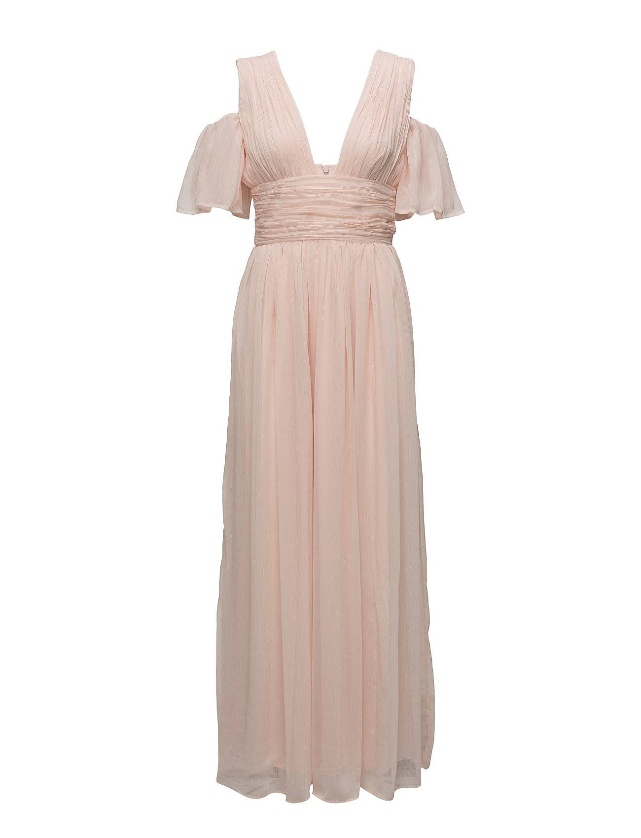 French Connection Constance Drape Cold Shoulder Maxi Dress