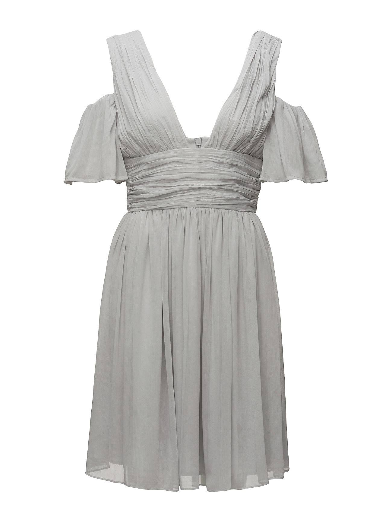 French Connection Constance Draped Cold Shoulder Dress