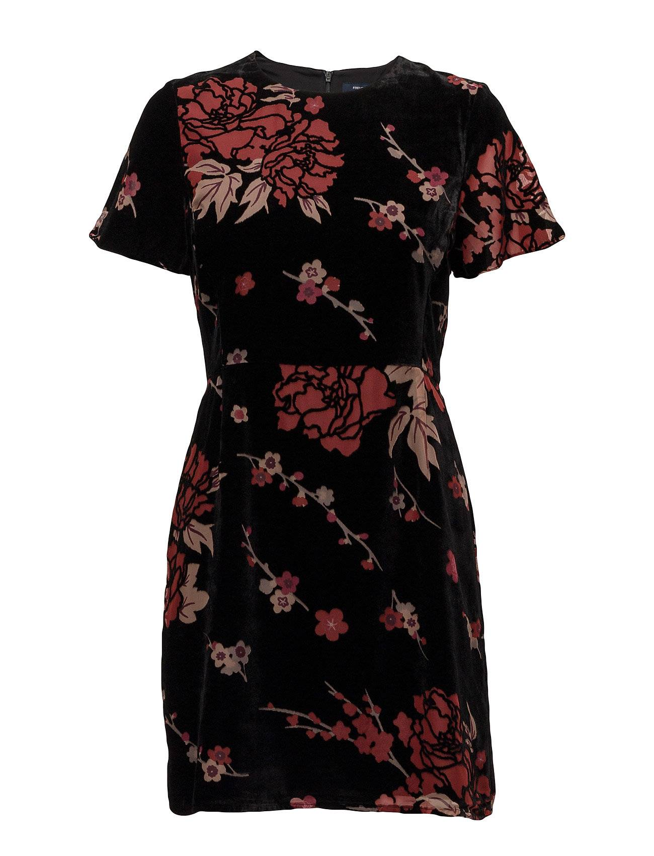 French Connection Wilma Devore Ss Dress