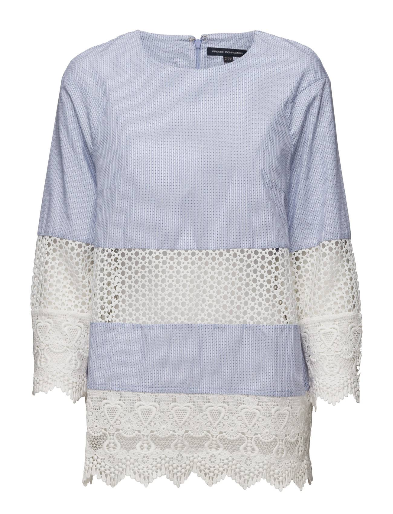 French Connection Kyra Cotton Ss Tunic Top
