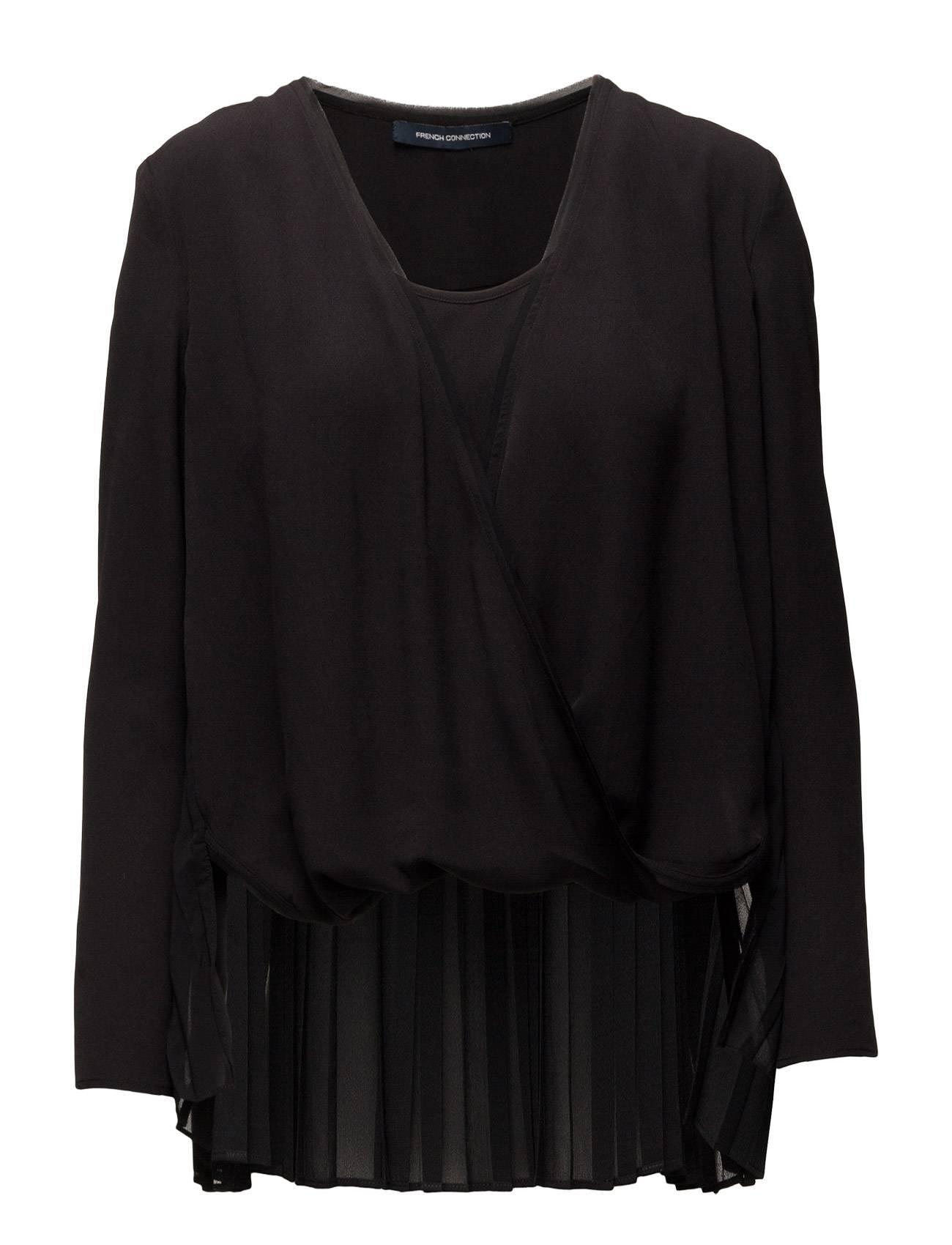 French Connection Polly Plains Wrapover Top