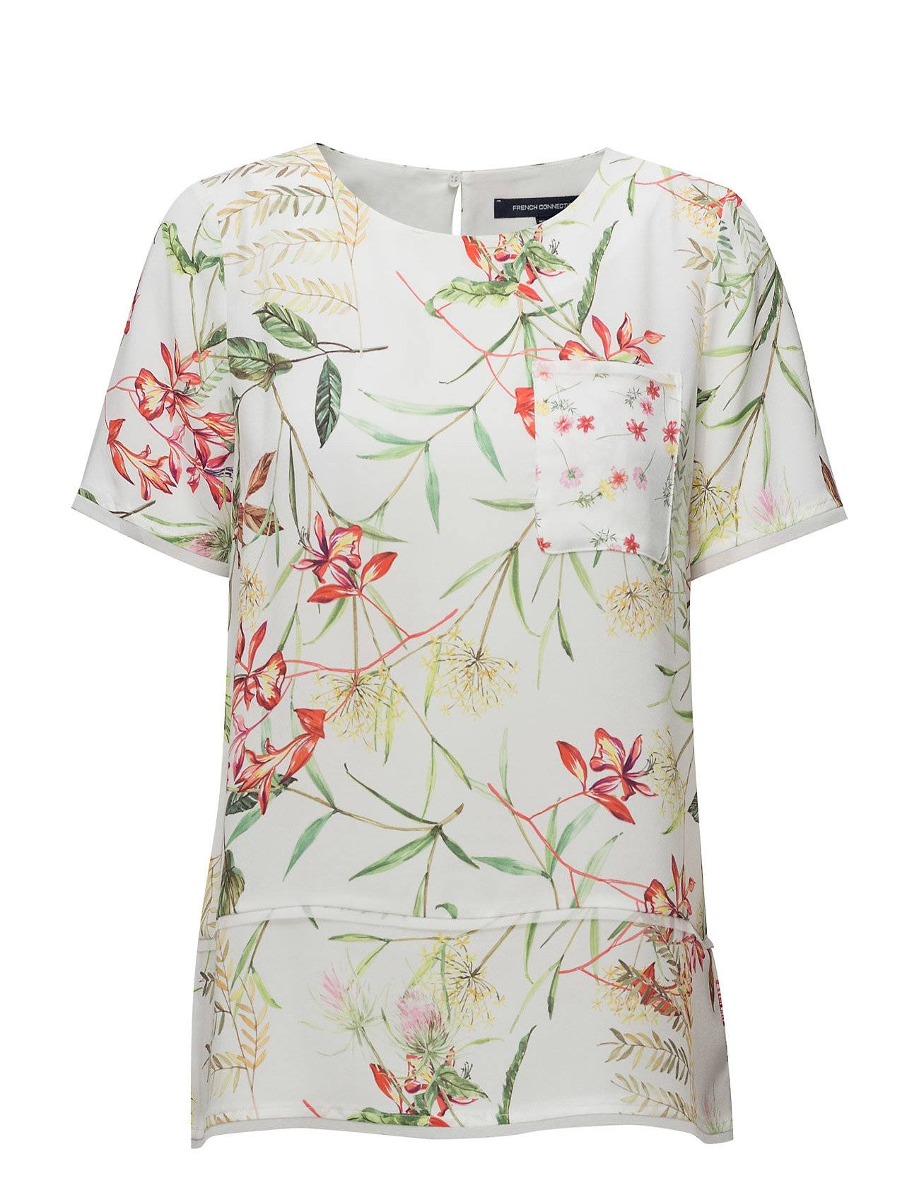 French Connection Bluhm Botero Crepe Light Tunic