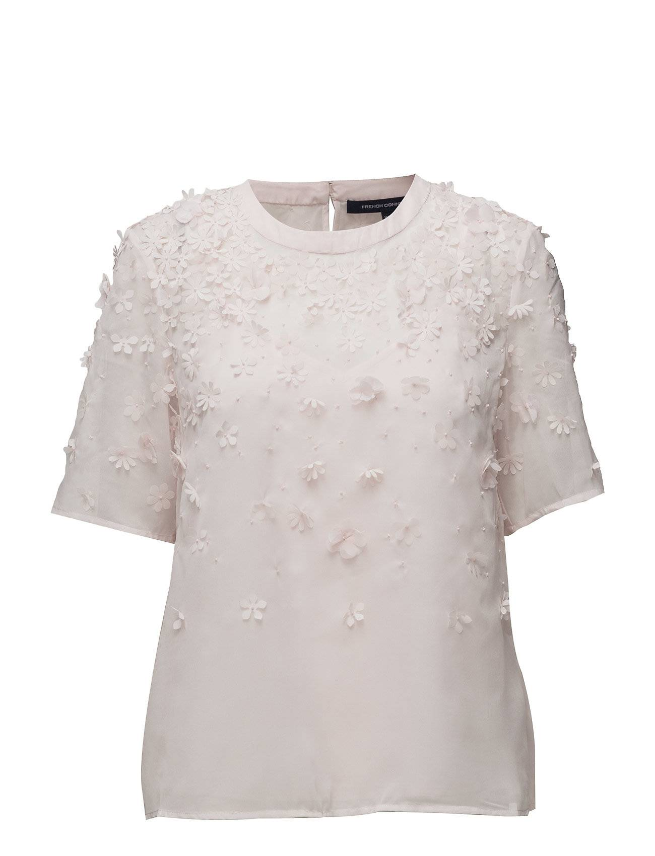 French Connection Agnes Floral Ss Top