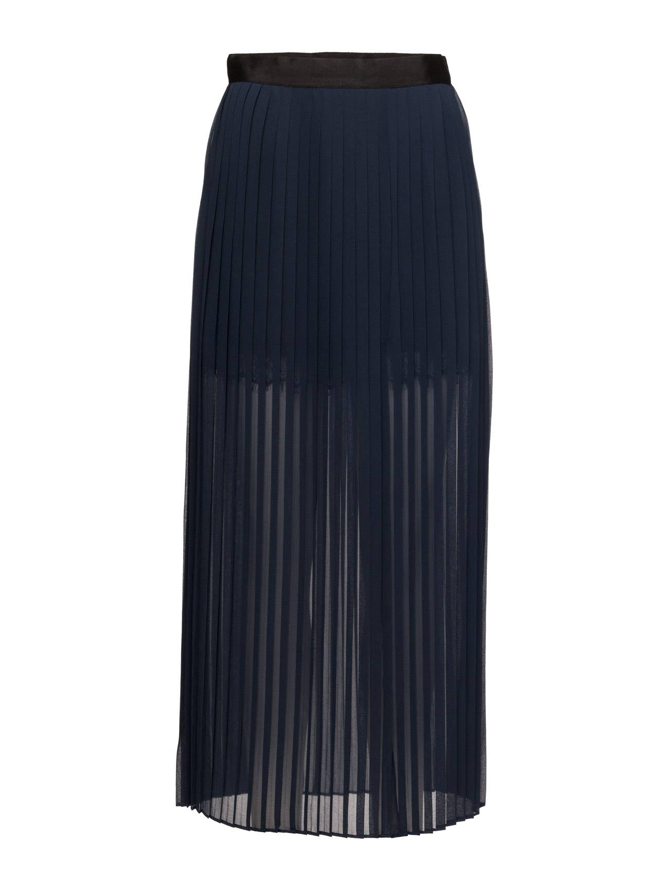 French Connection Cooper Sheer Pleated Maxi Skrt