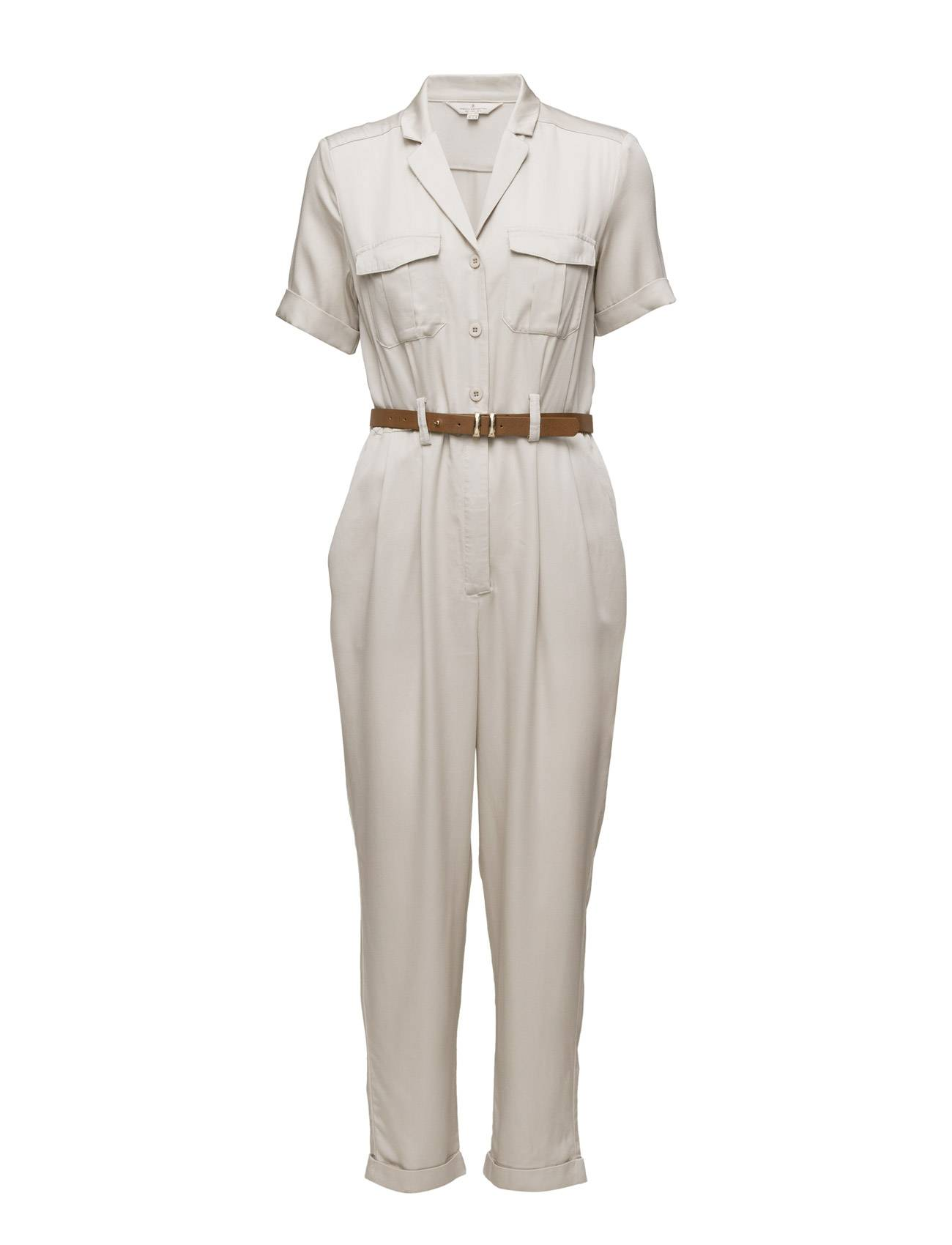 French Connection Kruger Tencel Ls Jumpsuit