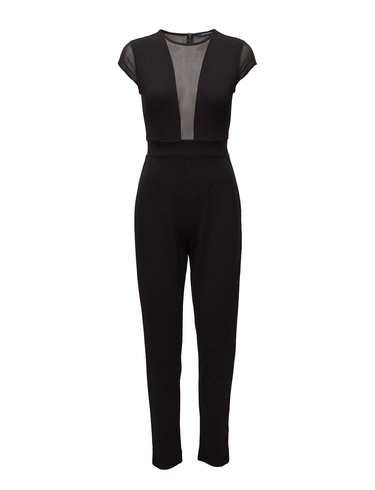 French Connection Marie Chiffon S/Lss Jumpsuit