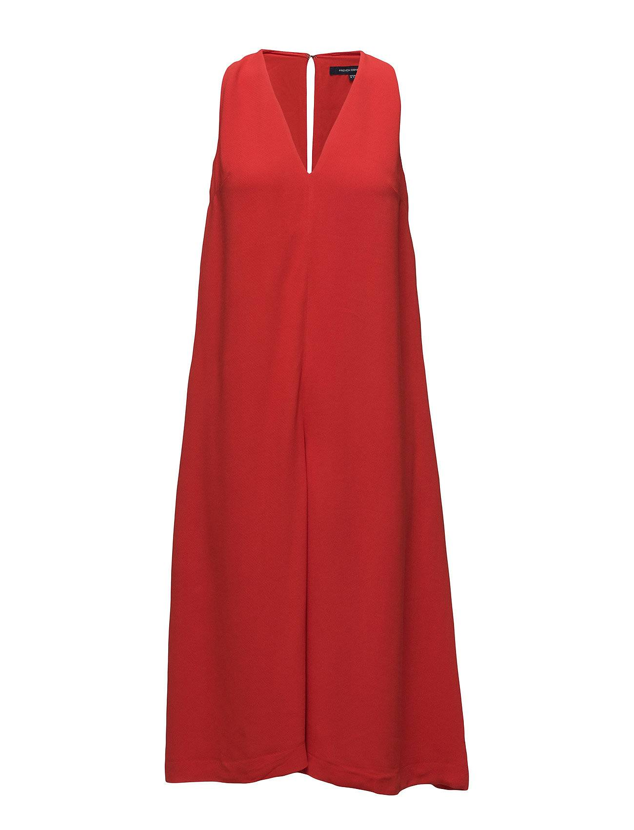 French Connection Essien Crepe V Nk Jumpsuit