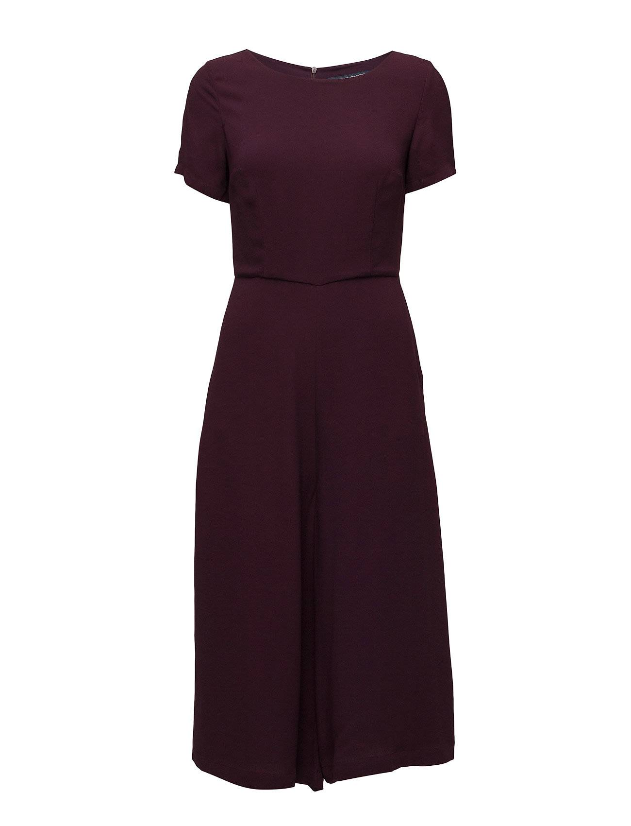 French Connection Esther Crepe S/S Jumpsuit