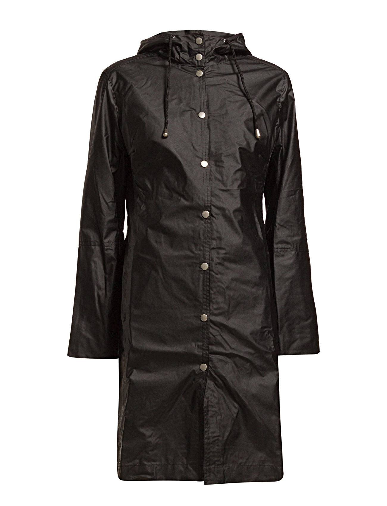 Ilse Jacobsen Classic Raincoat With Matching Hat.
