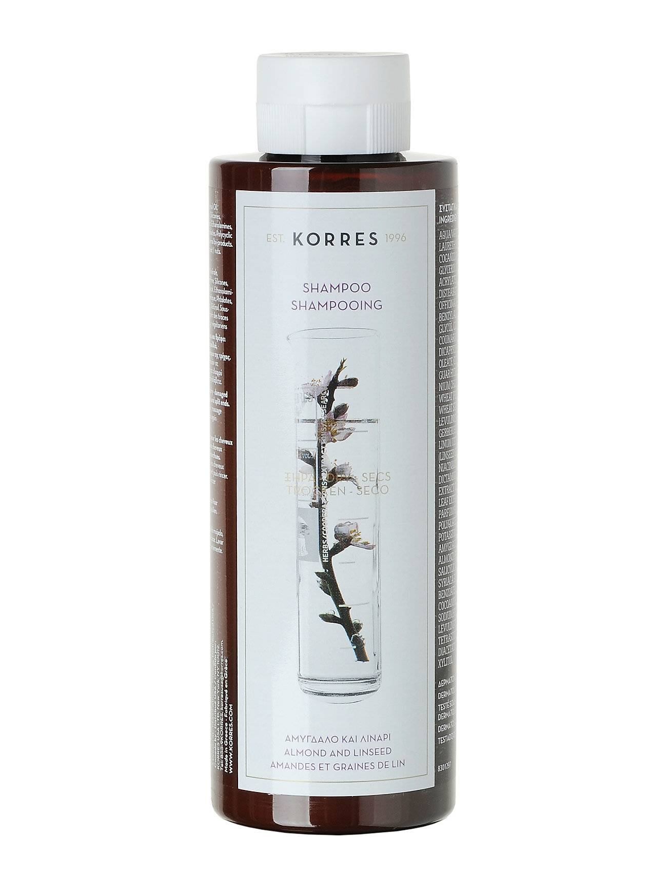 KORRES Almond&Linseed Shampoo 250ml