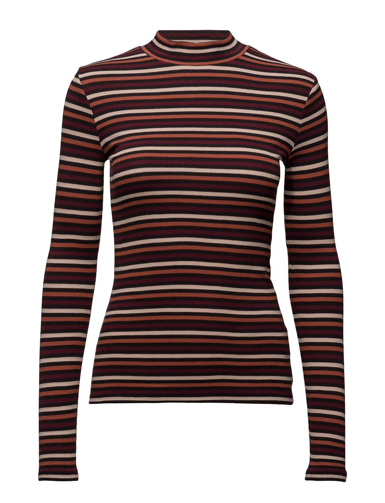 Lee Jeans High Neck Tee Tawny Port