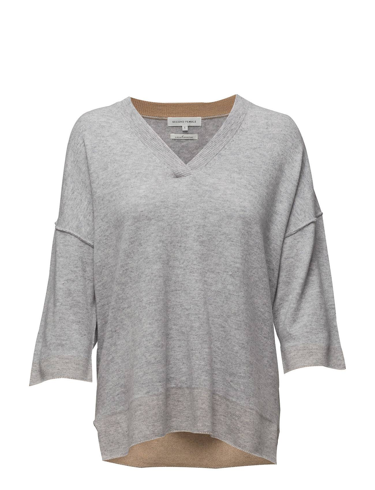 Second Female Groove Knit V-Neck