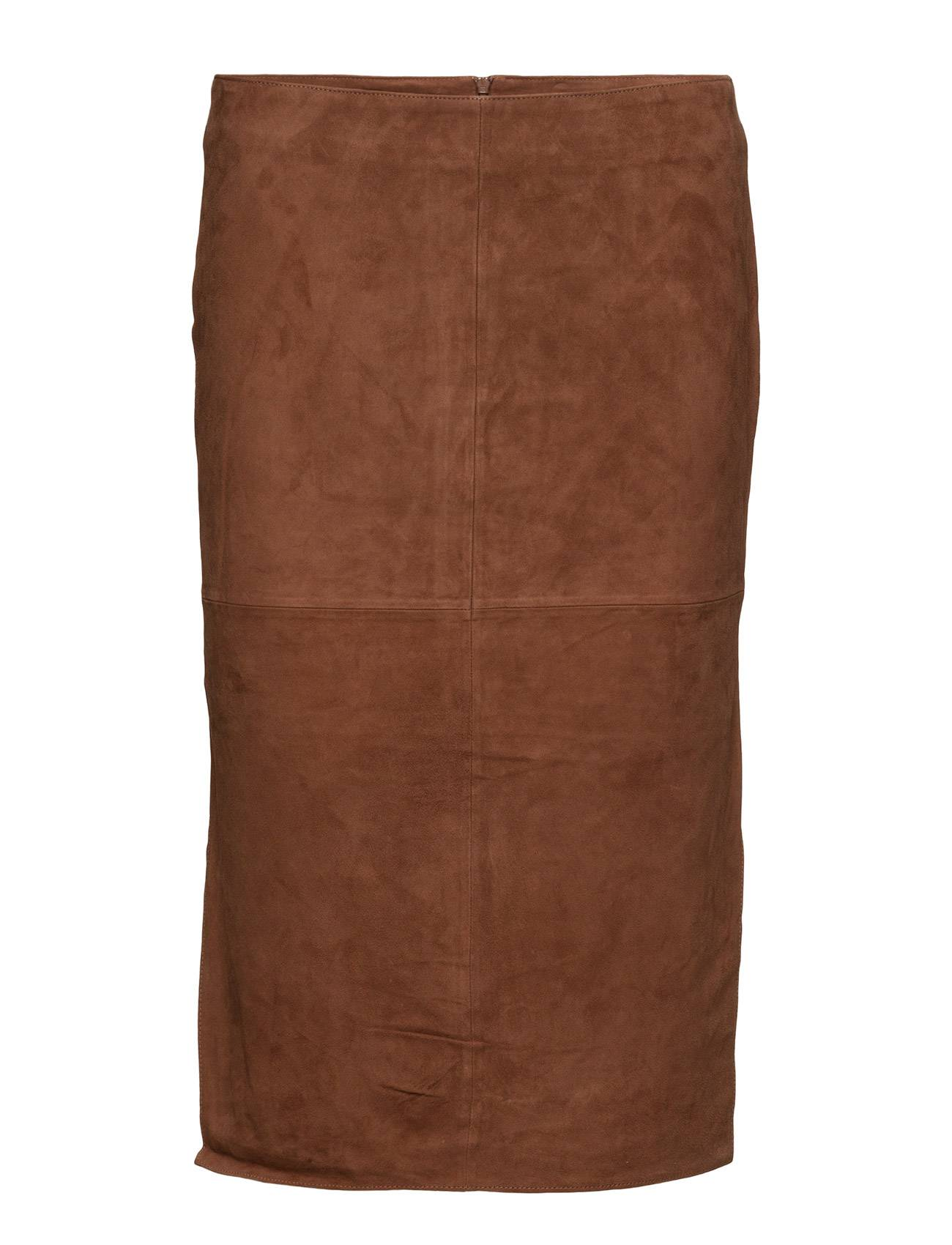 Second Female Agency Suede Long Skirt