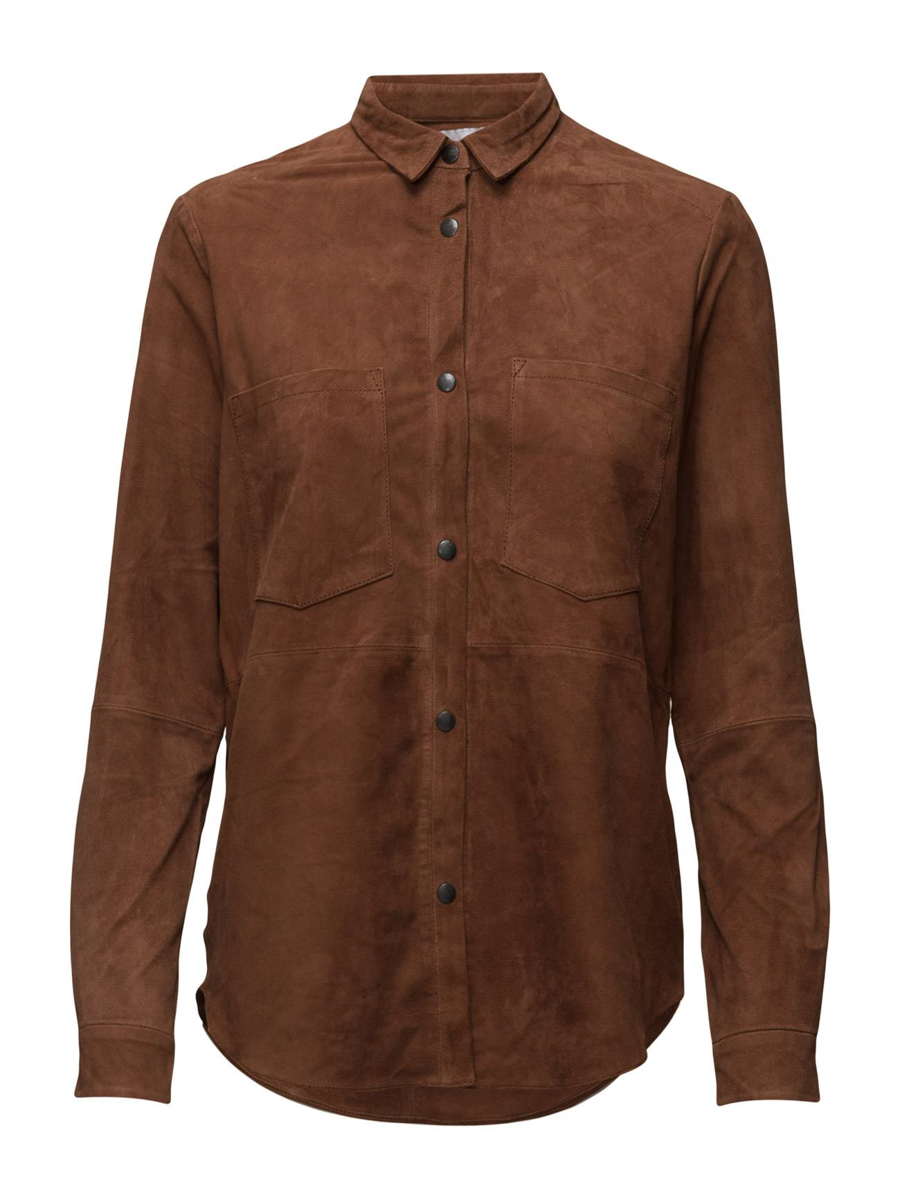 Second Female Lucy Suede Shirt
