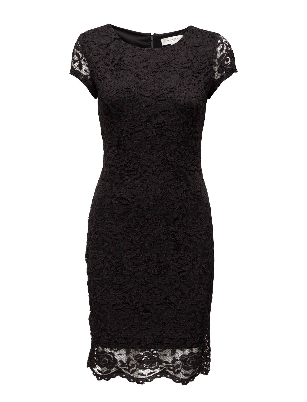 Selected Femme Sfcharlotte Cap Lace Dress
