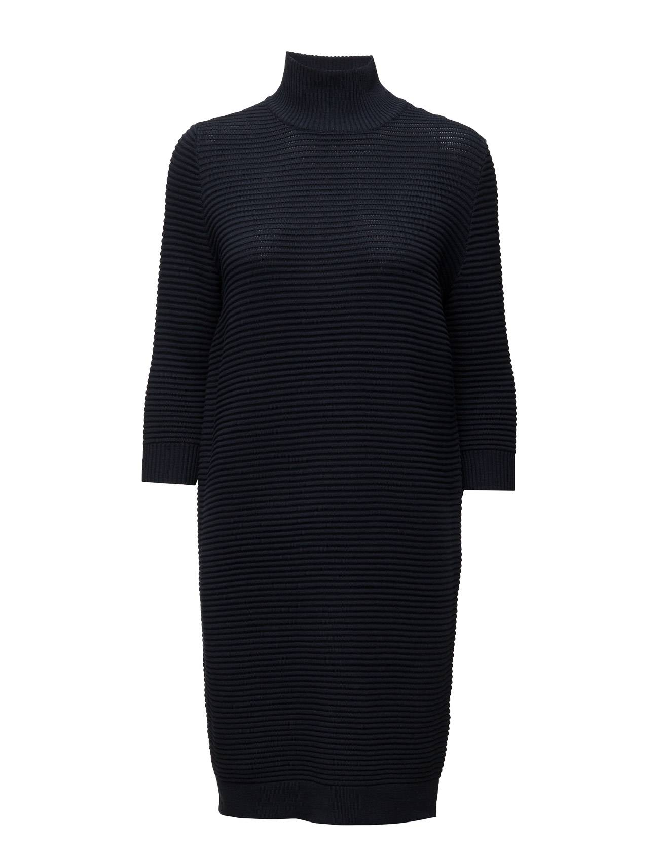 Selected Femme Sflaua 3/4 High Neck Knit Dress