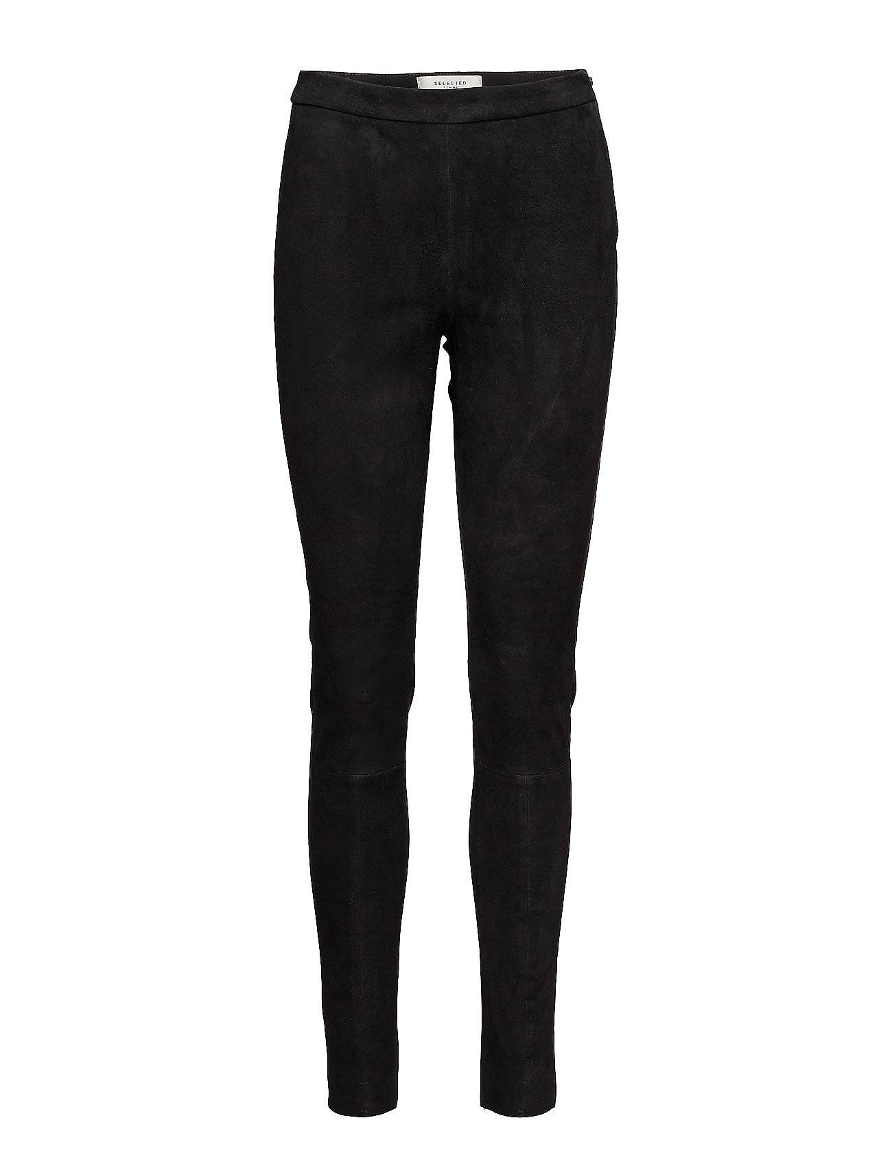 Selected Femme Sfsille Mw Stretch Suede Legging