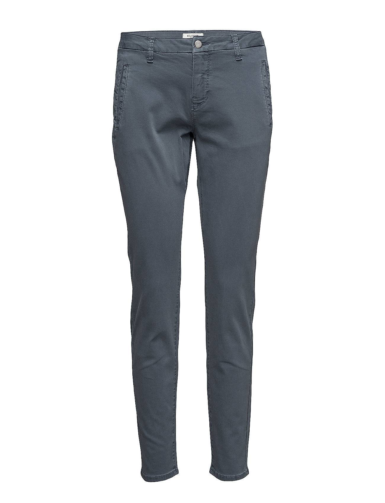 Selected Femme Sfingrid Mr 2 Chino Ombre Blue Noos