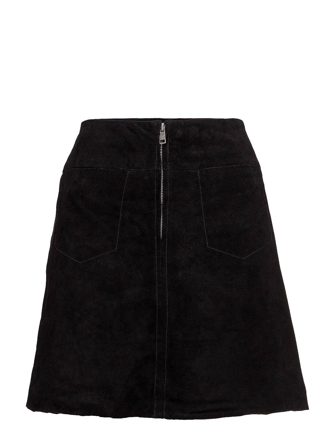 Selected Femme Sflore Mw Suede Skirt