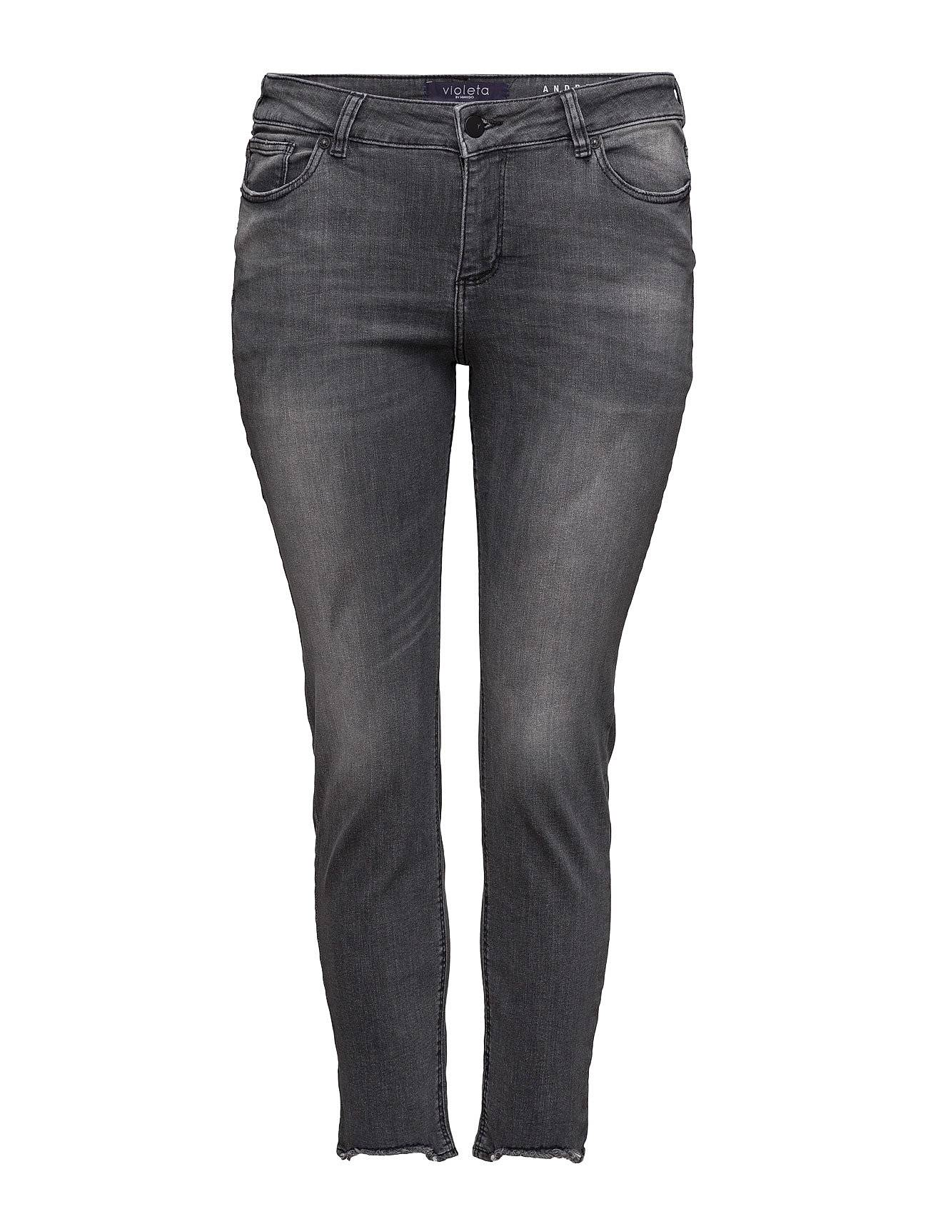 Violeta by Mango Super Slim-Fit Andrea Jeans