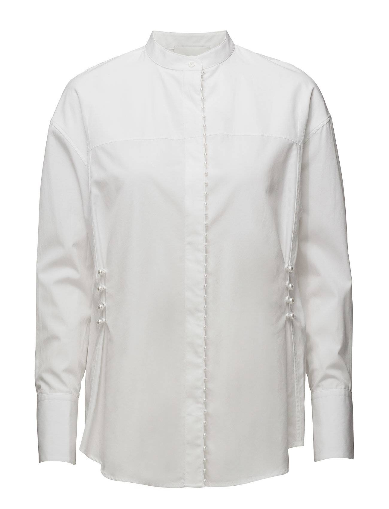 3.1 Phillip Lim Ls Blouse W Pearl Embroidery