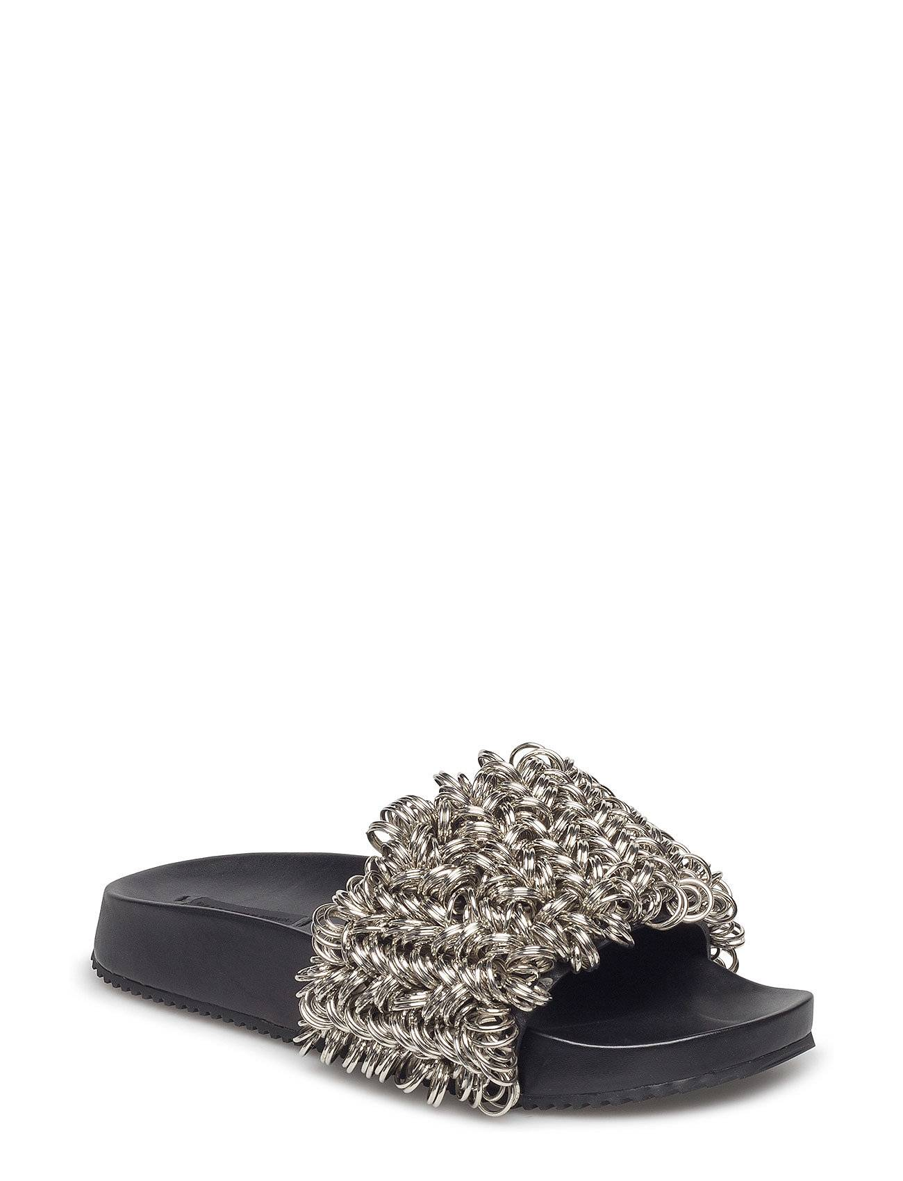 Alexander Wang Suki Rings Embroidery Black/Silver