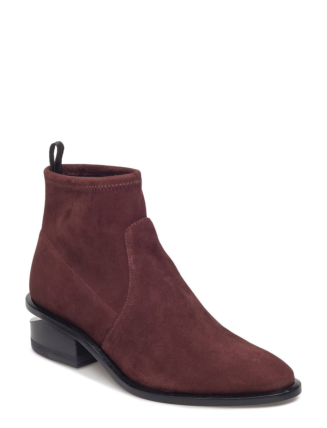 Alexander Wang Kori Stretch Cranberry Suede