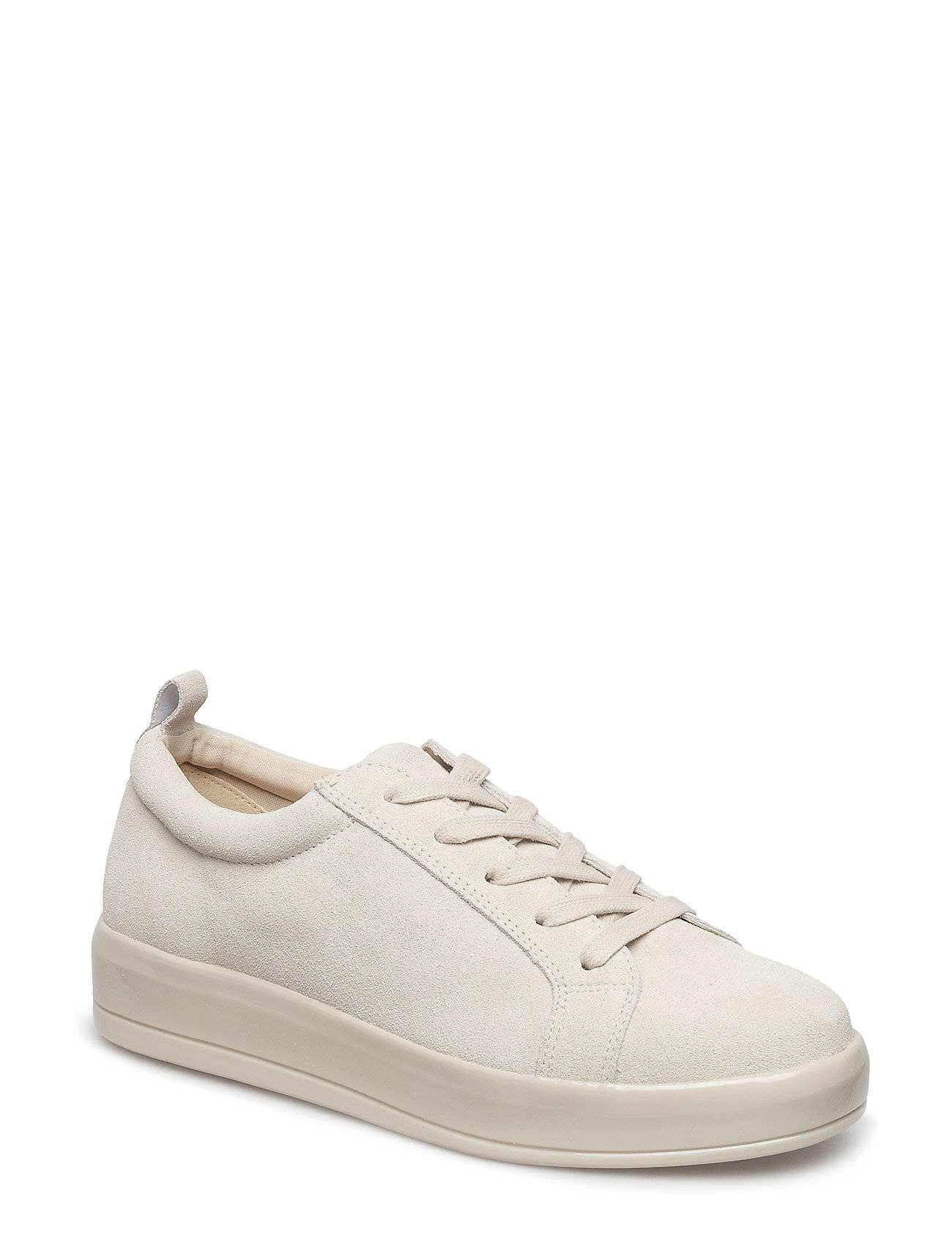 Bianco Laced Up Suede Sneaker Jfm18