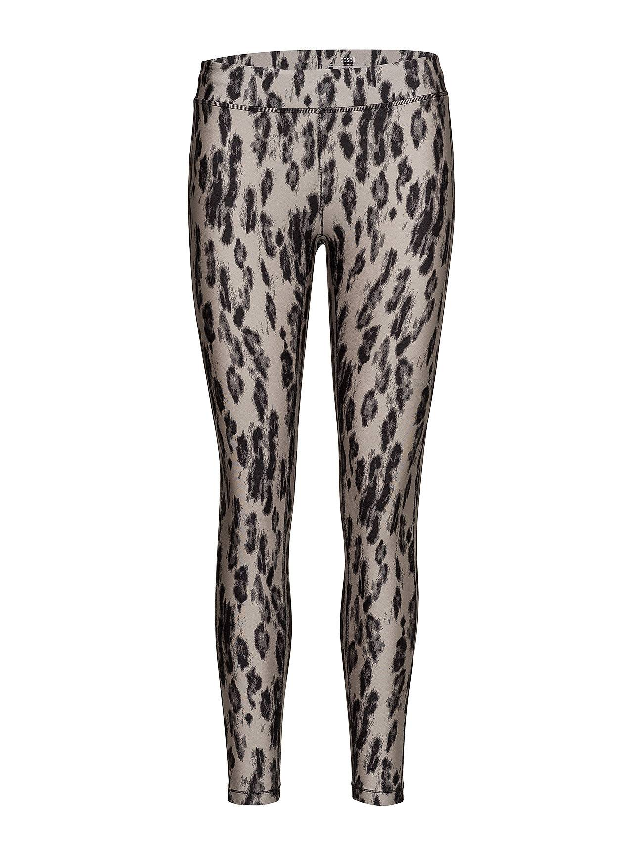 Casall Fuzzy Print 7/8 Tights