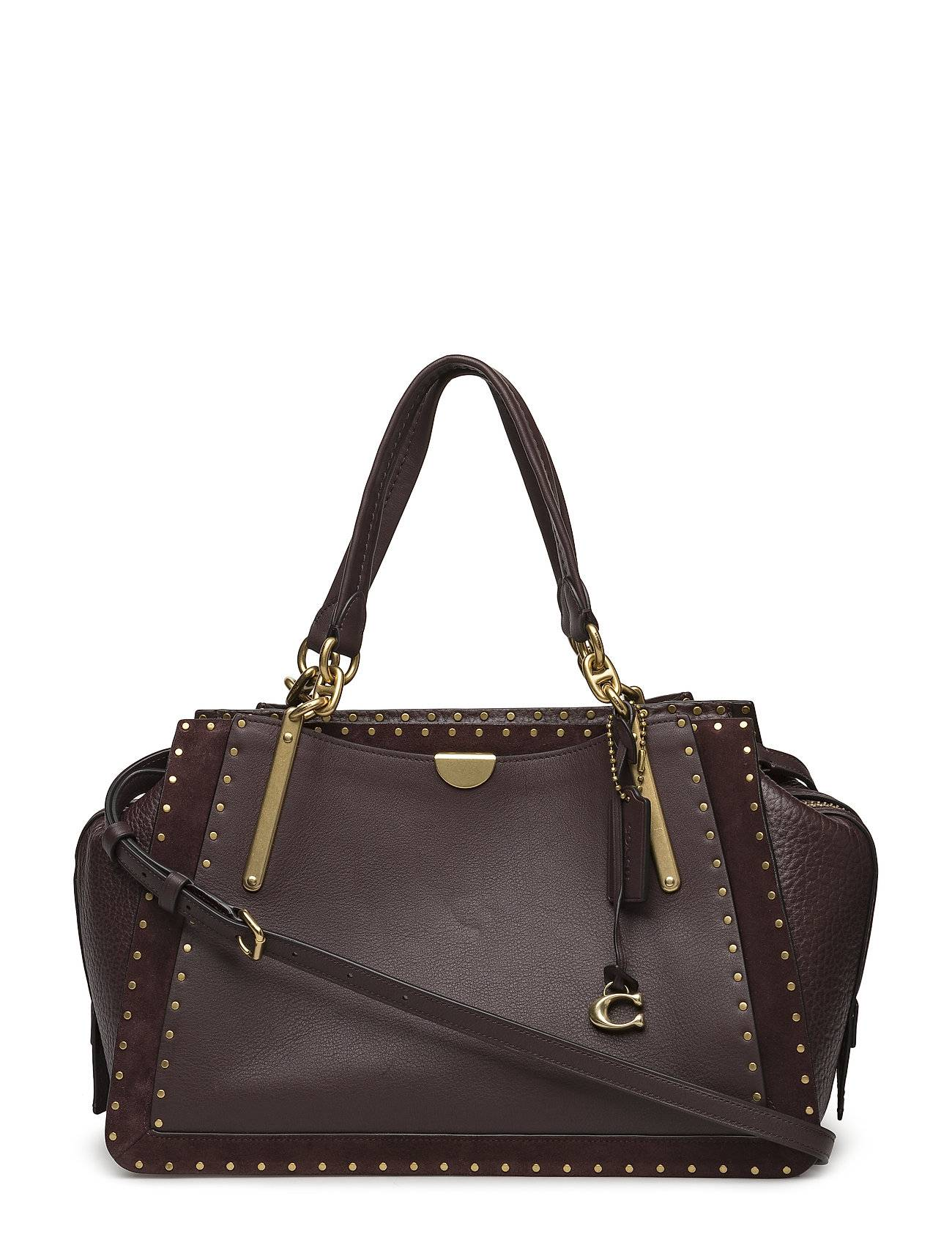 Coach Border Rivets Mixed Leather Dreamer 36