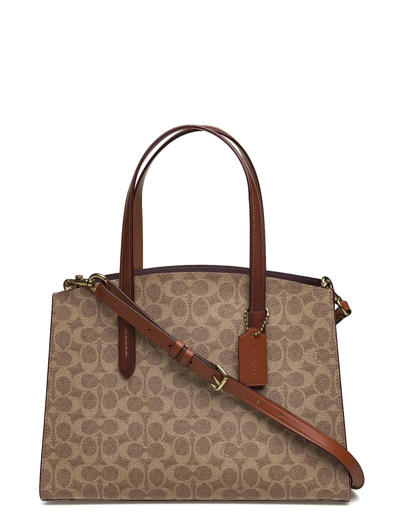 Coach Coated Canvas Signature Charlie Carryall