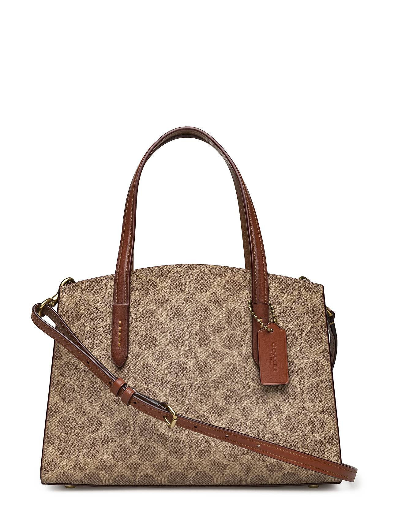 Coach Coated Canvas Signature Charlie 28 Carryall