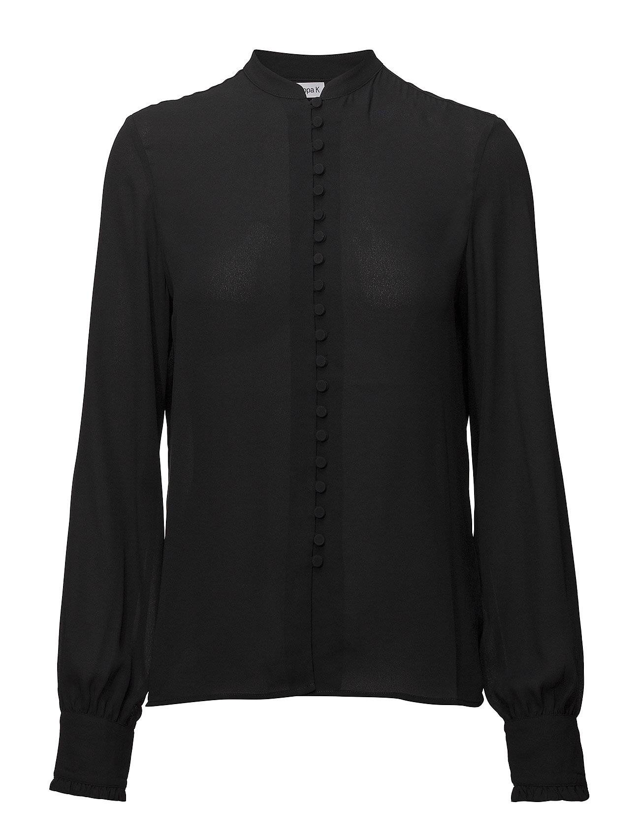 Filippa K Sheer Button Blouse