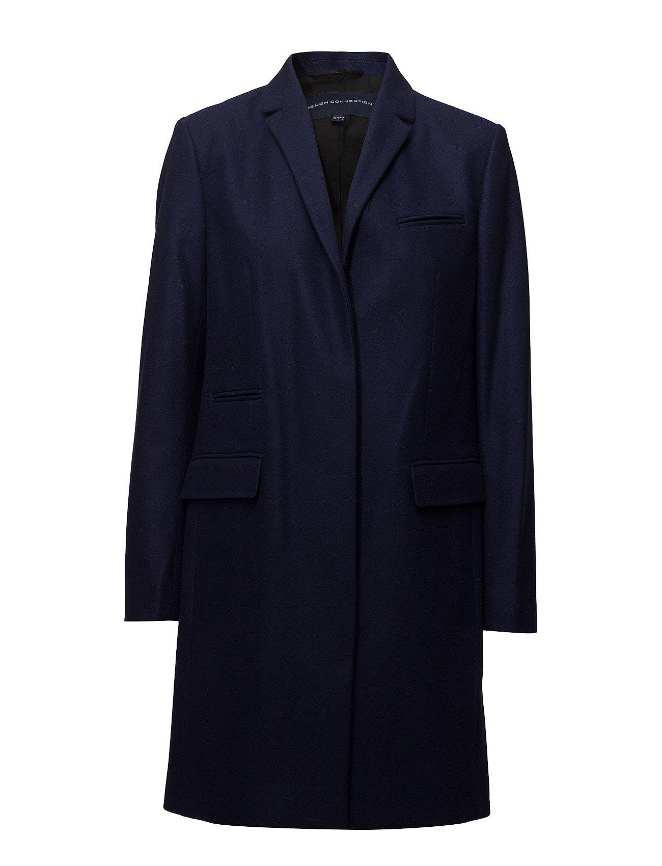French Connection Platform Felt Smart Coat