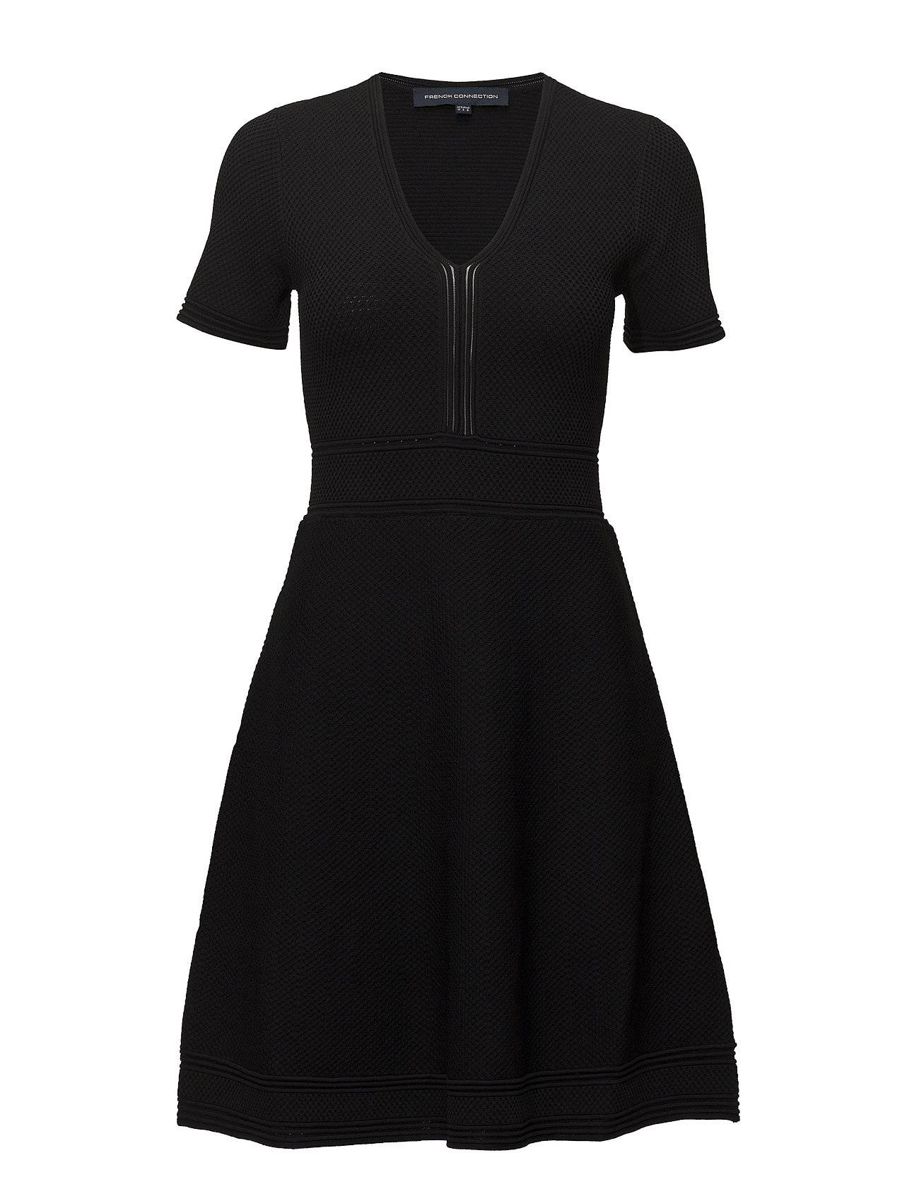 French Connection Ellie Knits Ss Vnck Fit N Flre